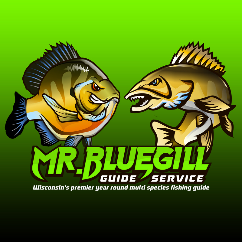 Mr. Bluegill logo